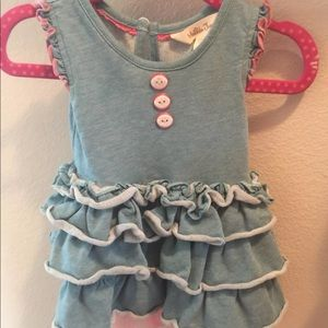 Matilda Jane Once upon a time sprite dress 3-6m